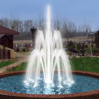 Creation of dynamic fountain animation