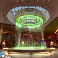 Анимация цифрового водопада